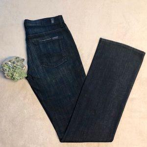 NWOT 7FAM High Waist Bootcut Jeans